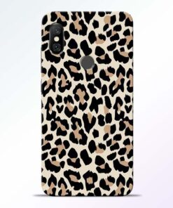 Leopard Pattern Redmi Note 6 Pro Back Cover