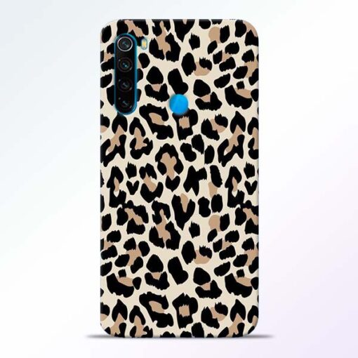 Leopard Pattern Redmi Note 8 Back Cover
