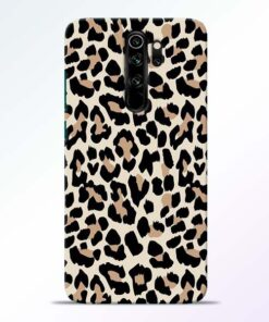 Leopard Pattern Redmi Note 8 Pro Back Cover