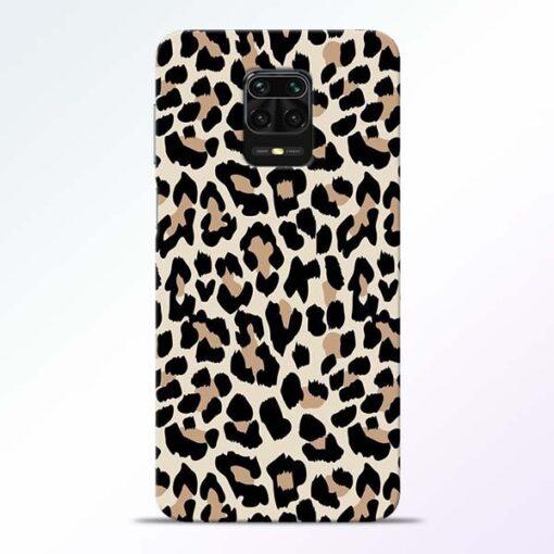 Leopard Pattern Redmi Note 9 Pro Back Cover