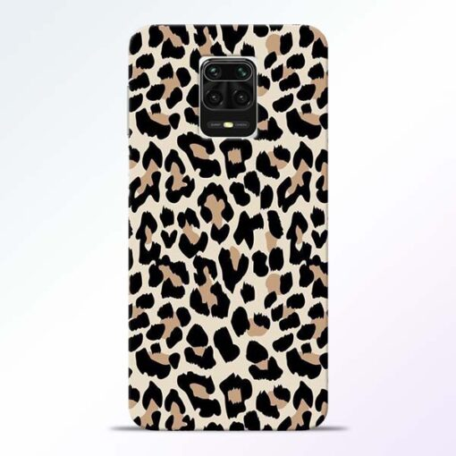 Leopard Pattern Redmi Note 9 Pro Max Back Cover