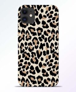 Leopard Pattern iPhone 11 Back Cover