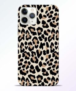 Leopard Pattern iPhone 11 Pro Max Back Cover