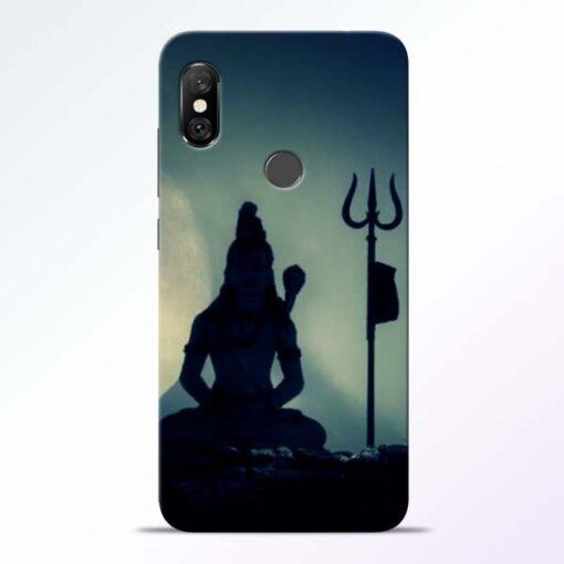 Mahadev Trishul Redmi Note 6 Pro Back Cover
