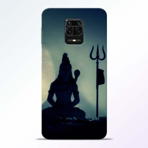 Mahadev Trishul Redmi Note 9 Pro Back Cover