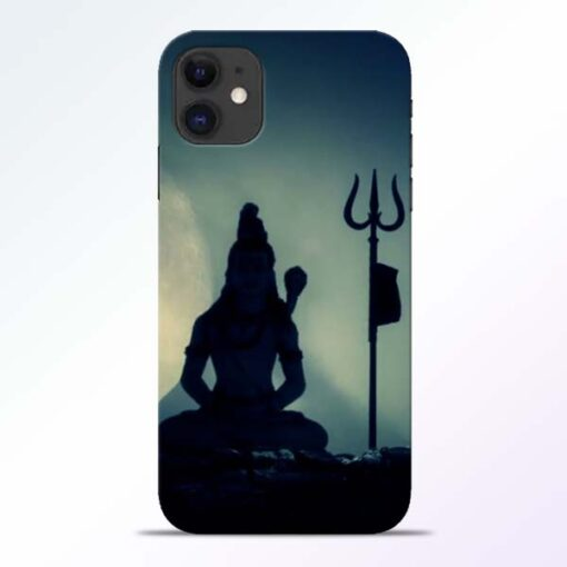 Mahadev Trishul iPhone 11 Back Cover