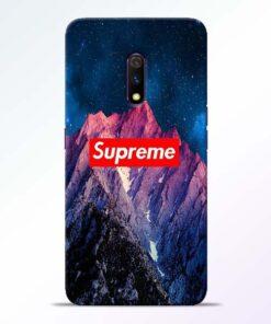 Mountain Realme X Back Cover