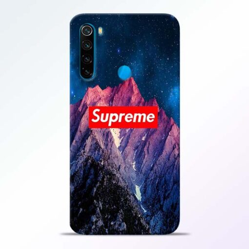 Mountain Redmi Note 8 Back Cover