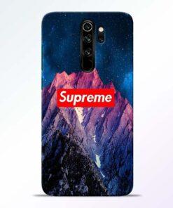 Mountain Redmi Note 8 Pro Back Cover