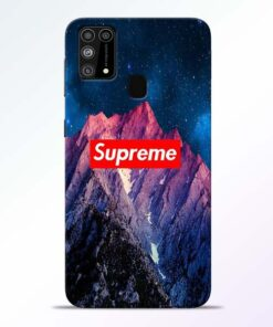 Mountain Samsung Galaxy M31 Back Cover