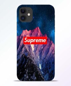 Mountain iPhone 11 Back Cover