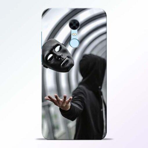 Neon Face Redmi Note 5 Back Cover