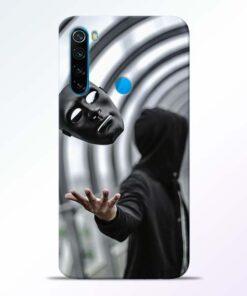 Neon Face Redmi Note 8 Back Cover