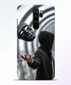 Neon Face Redmi Note 8 Pro Back Cover