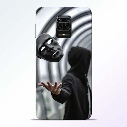 Neon Face Redmi Note 9 Pro Back Cover