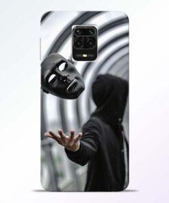 Neon Face Redmi Note 9 Pro Max Back Cover