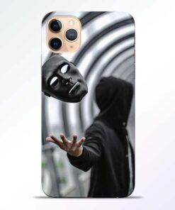 Neon Face iPhone 11 Pro Back Cover