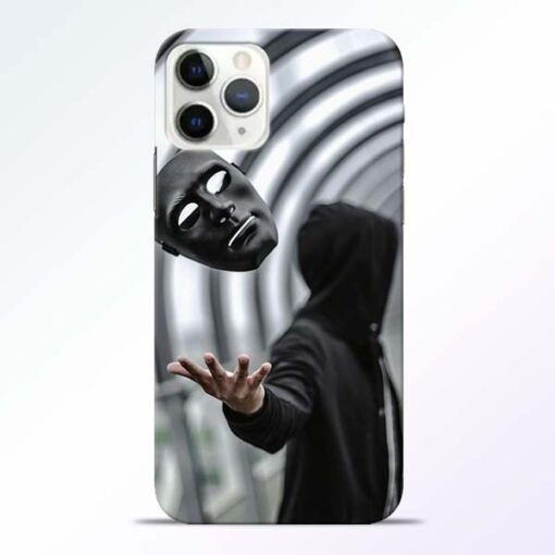 Neon Face iPhone 11 Pro Max Back Cover