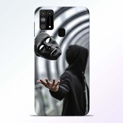 Neon Mask Samsung Galaxy M31 Back Cover