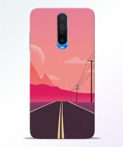 Pink Road Poco X2 Back Cover