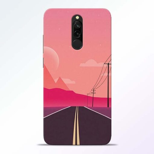 Pink Road Redmi 8 Back Cover