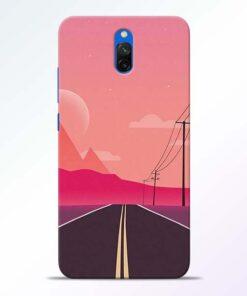 Pink Road Redmi 8A Dual Back Cover