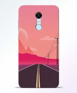Pink Road Redmi Note 5 Back Cover