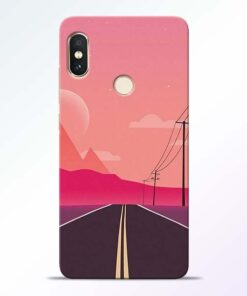 Pink Road Redmi Note 5 Pro Back Cover