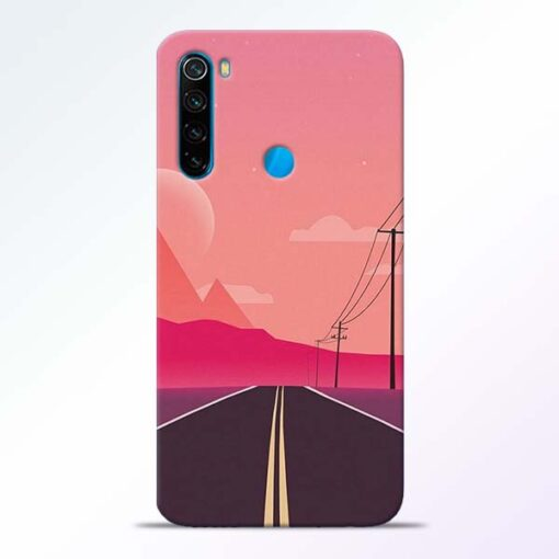 Pink Road Redmi Note 8 Back Cover