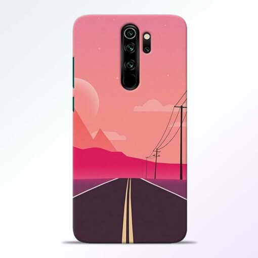 Pink Road Redmi Note 8 Pro Back Cover