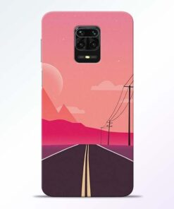 Pink Road Redmi Note 9 Pro Back Cover