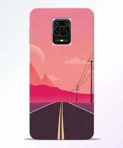 Pink Road Redmi Note 9 Pro Max Back Cover
