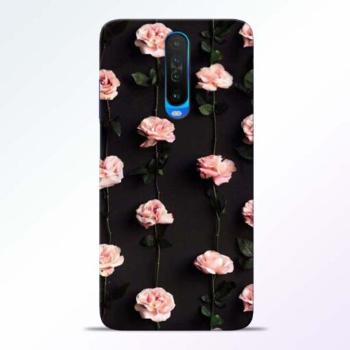 Pink Rose Poco X2 Back Cover