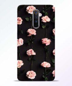 Pink Rose Realme X2 Pro Back Cover