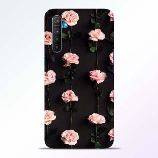 Pink Rose Realme XT Back Cover