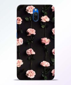 Pink Rose Redmi 8A Dual Back Cover