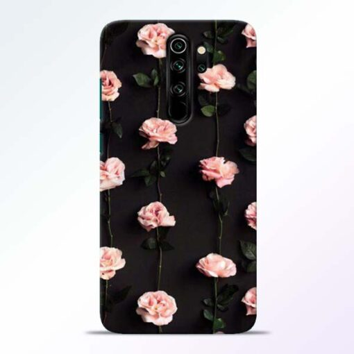 Pink Rose Redmi Note 8 Pro Back Cover