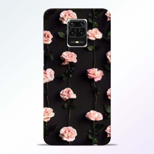 Pink Rose Redmi Note 9 Pro Max Back Cover
