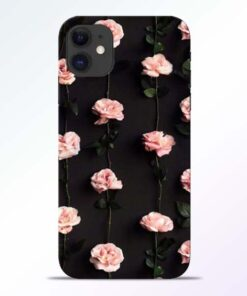 Pink Rose iPhone 11 Back Cover