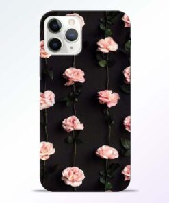 Pink Rose iPhone 11 Pro Max Back Cover