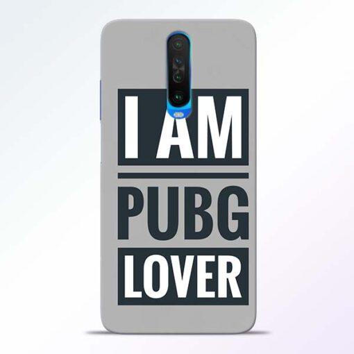 PubG Lover Poco X2 Back Cover