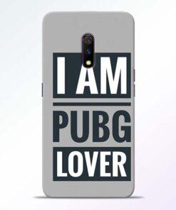 PubG Lover Realme X Back Cover