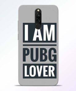 PubG Lover Redmi 8 Back Cover