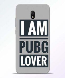 PubG Lover Redmi 8A Back Cover