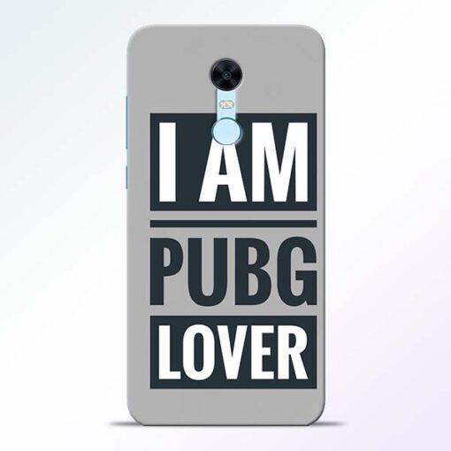 PubG Lover Redmi Note 5 Back Cover