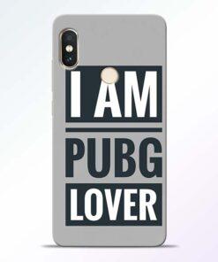 PubG Lover Redmi Note 5 Pro Back Cover