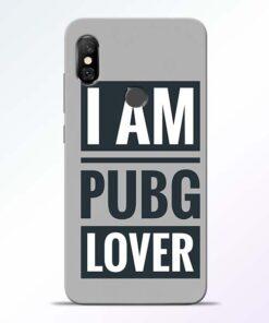 PubG Lover Redmi Note 6 Pro Back Cover