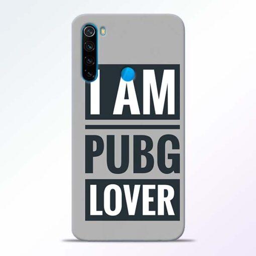 PubG Lover Redmi Note 8 Back Cover