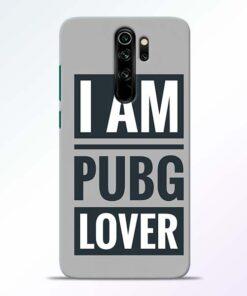 PubG Lover Redmi Note 8 Pro Back Cover