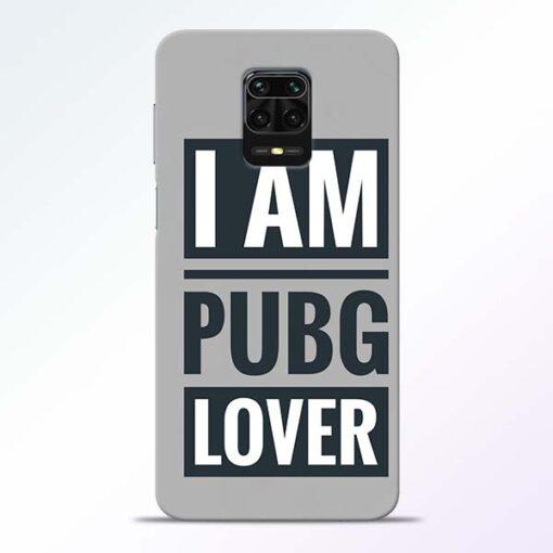 PubG Lover Redmi Note 9 Pro Back Cover